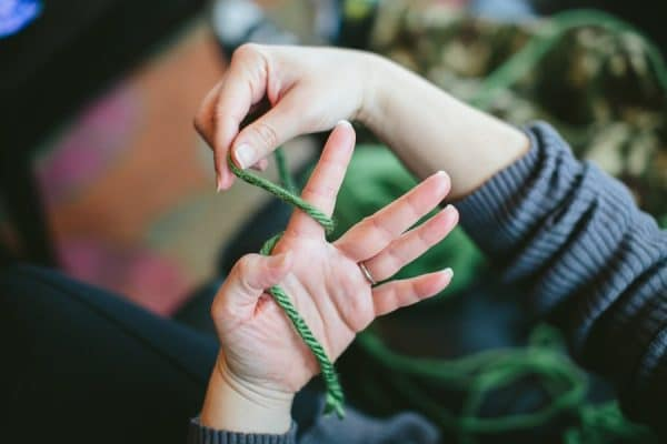 Finger Knitting Tutorial : Crochet archives whistle and ivy