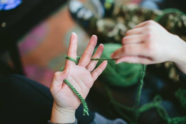 Finger Knitting Tutorial : Free pattern archives whistle and ivy