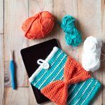 Bow Crochet iPad Pouch – Free Crochet Pattern