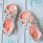 Women's Crochet Slipper Sandals