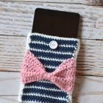 Fancy Stripes Device Pouch
