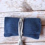 Crochet Wrap Clutch