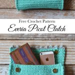 Everia Picot Clutch Crochet Pattern