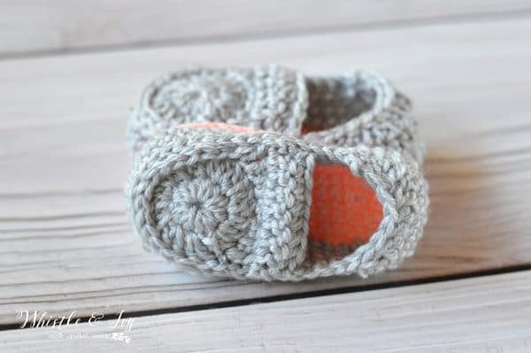 Crochet Baby Loafers Free Pattern Whistle And Ivy