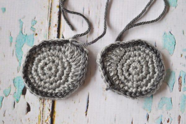 gray lenses for crochet sleep mask