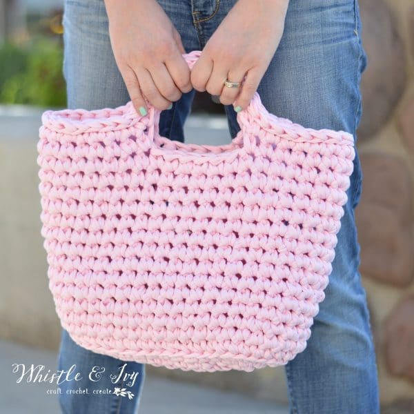 Crochet Menorca Bag A Review Whistle And Ivy