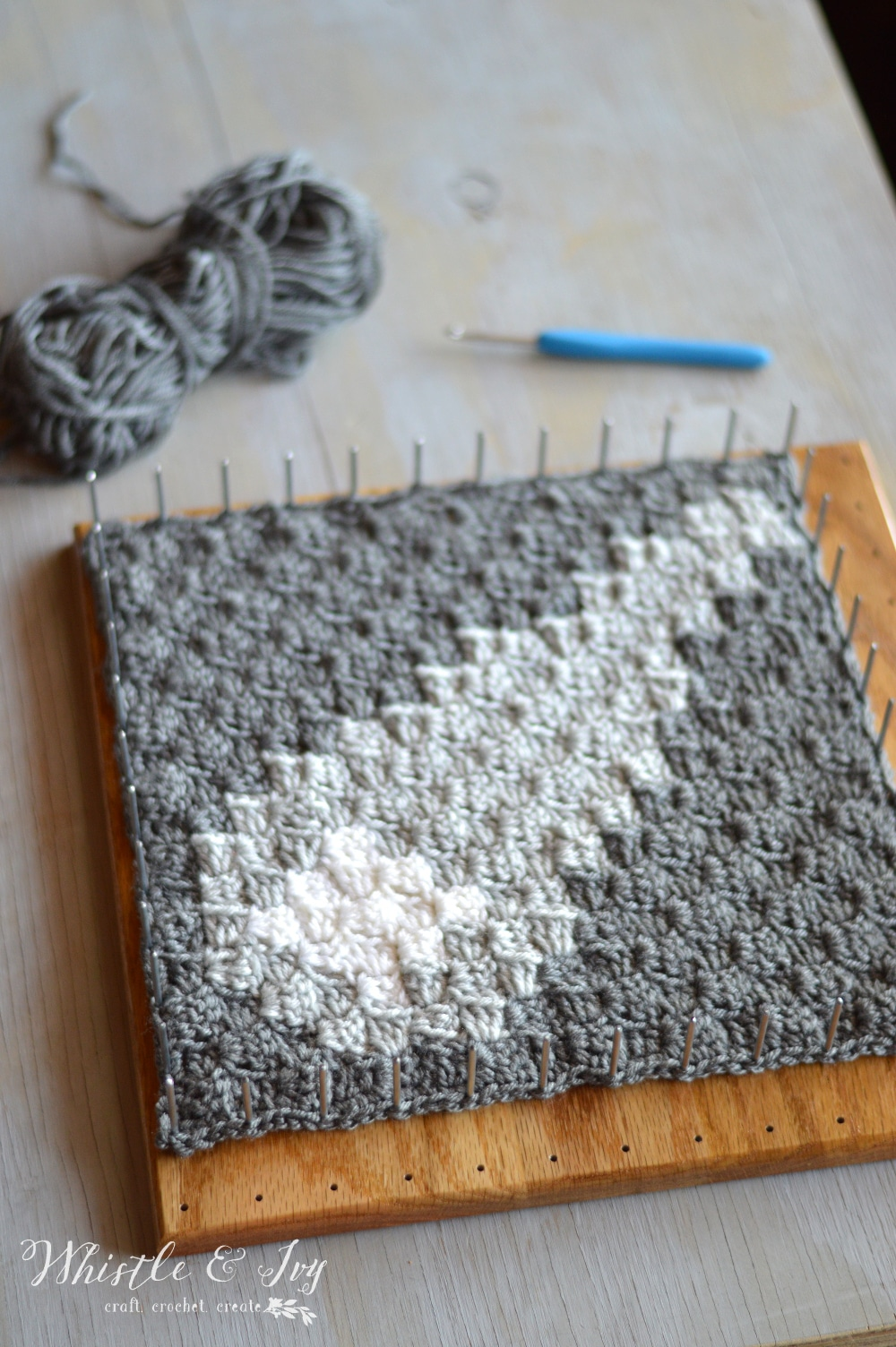 Blocking Afghan Squares: Learn a simple method for blocking finished afghan squares to make your finished afghan much nicer!