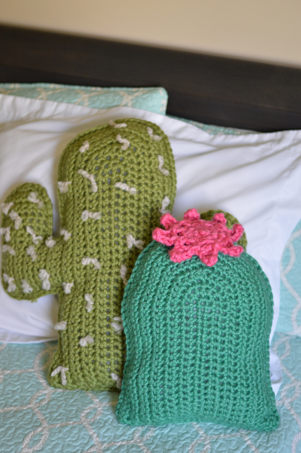 Crochet cactus pillows free crochet pattern whistle and ivy izmirmasajfo