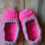 30 Minute Chunky Crochet Slippers Crochet Pattern