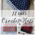 11 FREE Perfect Crochet Hats for Fall