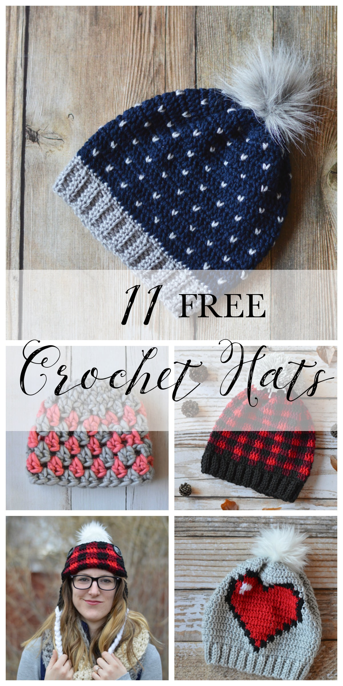 e3f1631e0f0 11 FREE Perfect Crochet Hats for Fall - Fill your weekend crochet to-do list