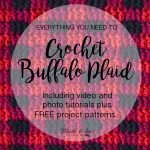 How to Crochet Buffalo Plaid – The Plaid Stitch