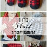 Mad About Plaid – 21 FREE Crochet Plaid Patterns