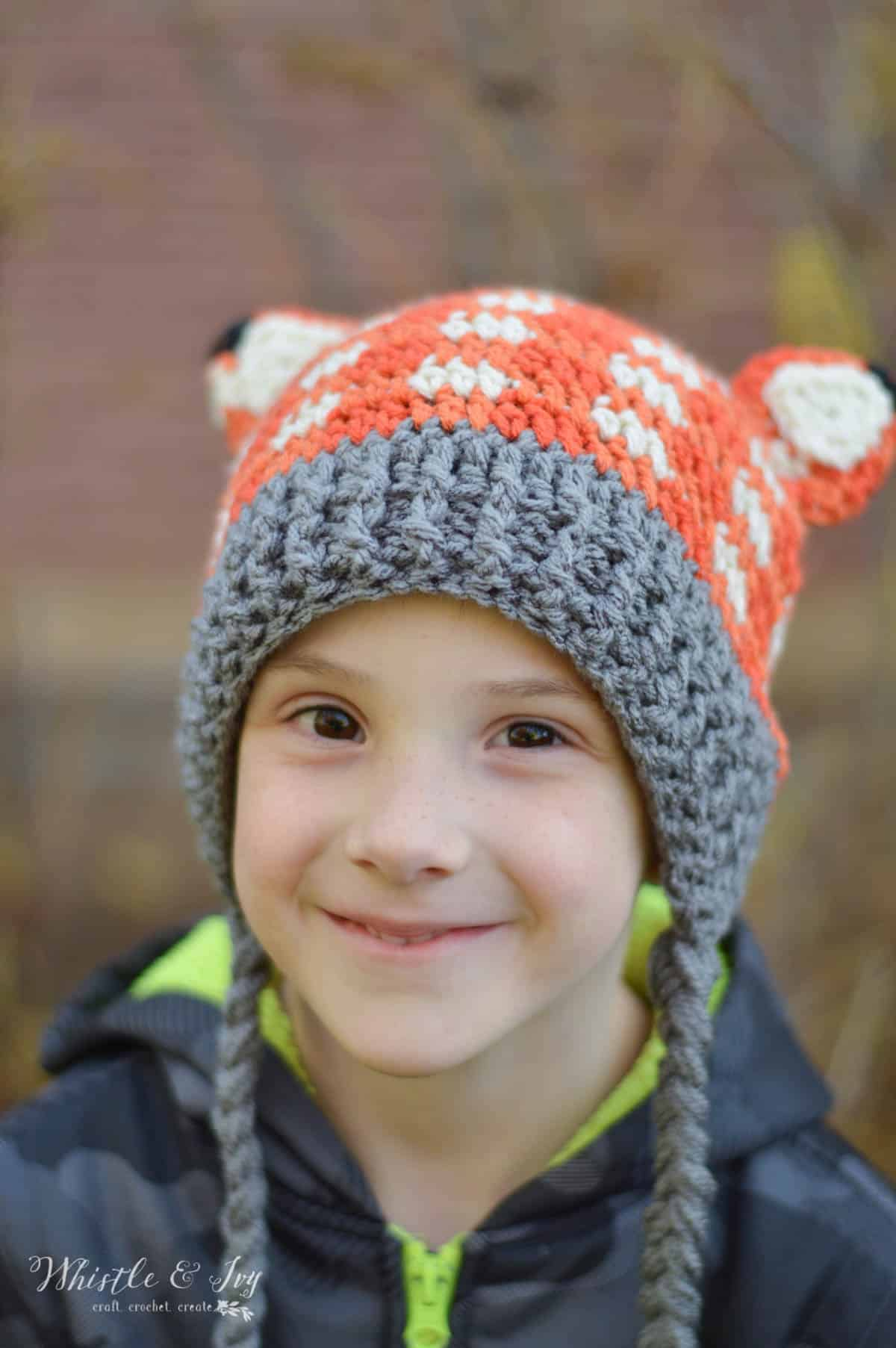 Crochet Link Hat Pattern - Whistle and Ivy