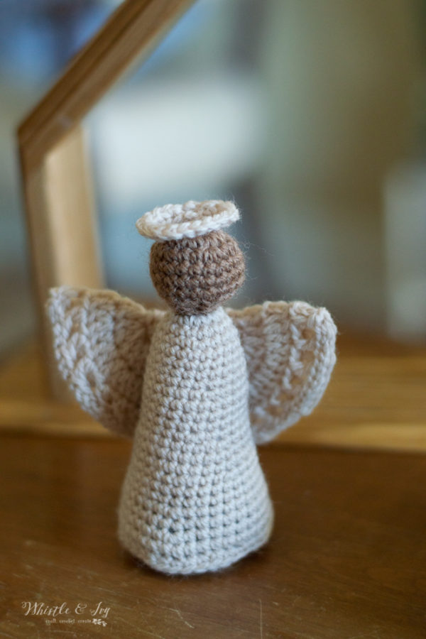 crochet angel free crochet pattern rustic