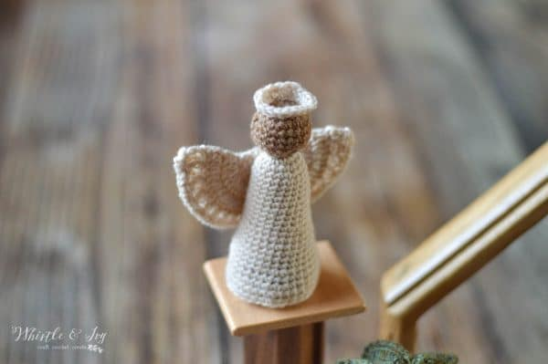 rustic crochet angel free crochet pattern