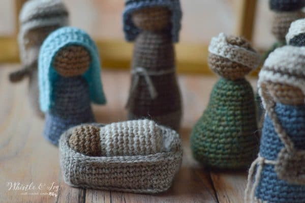 Free Amigurumi Nativity Pattern : Crochet nativity set cal whistle and ivy