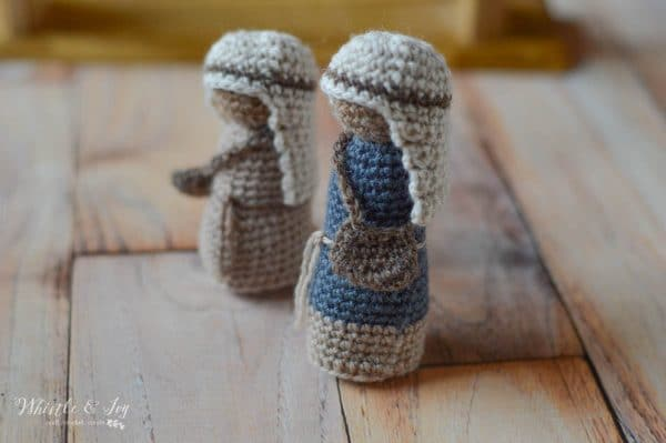 nativity shepherds free crochet pattern