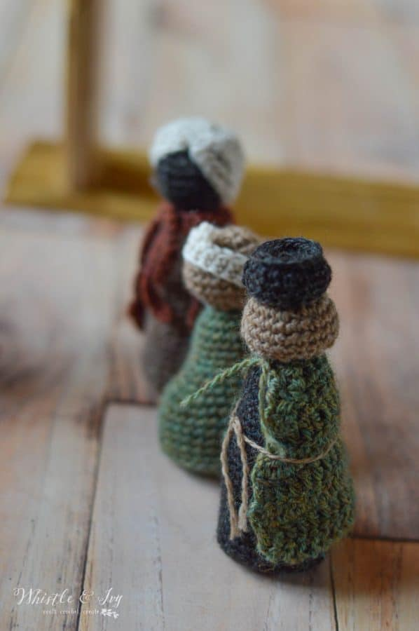three wisemen rustic crochet pattern free