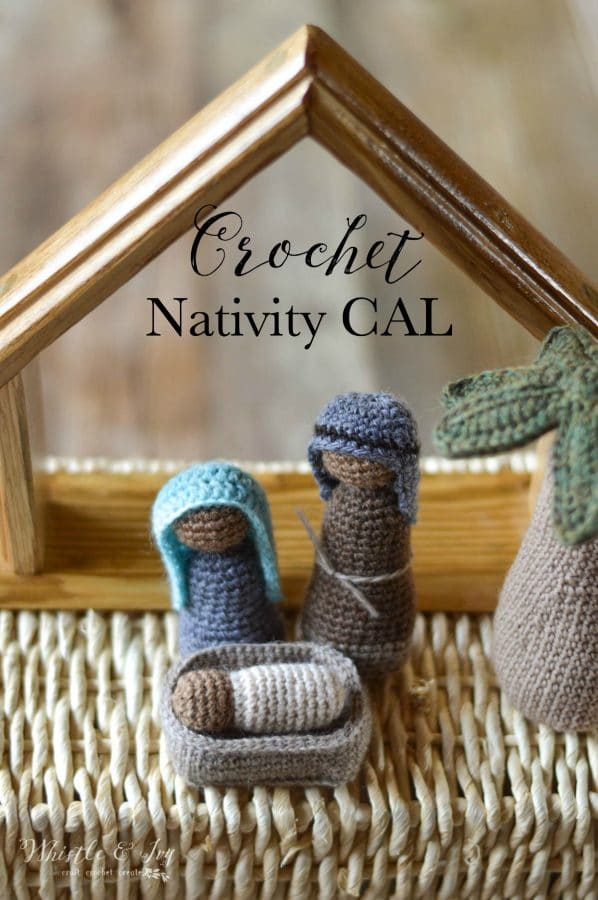 crochet rustic nativity set free crochet pattern
