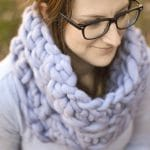 Super Bulky Crochet Cowl