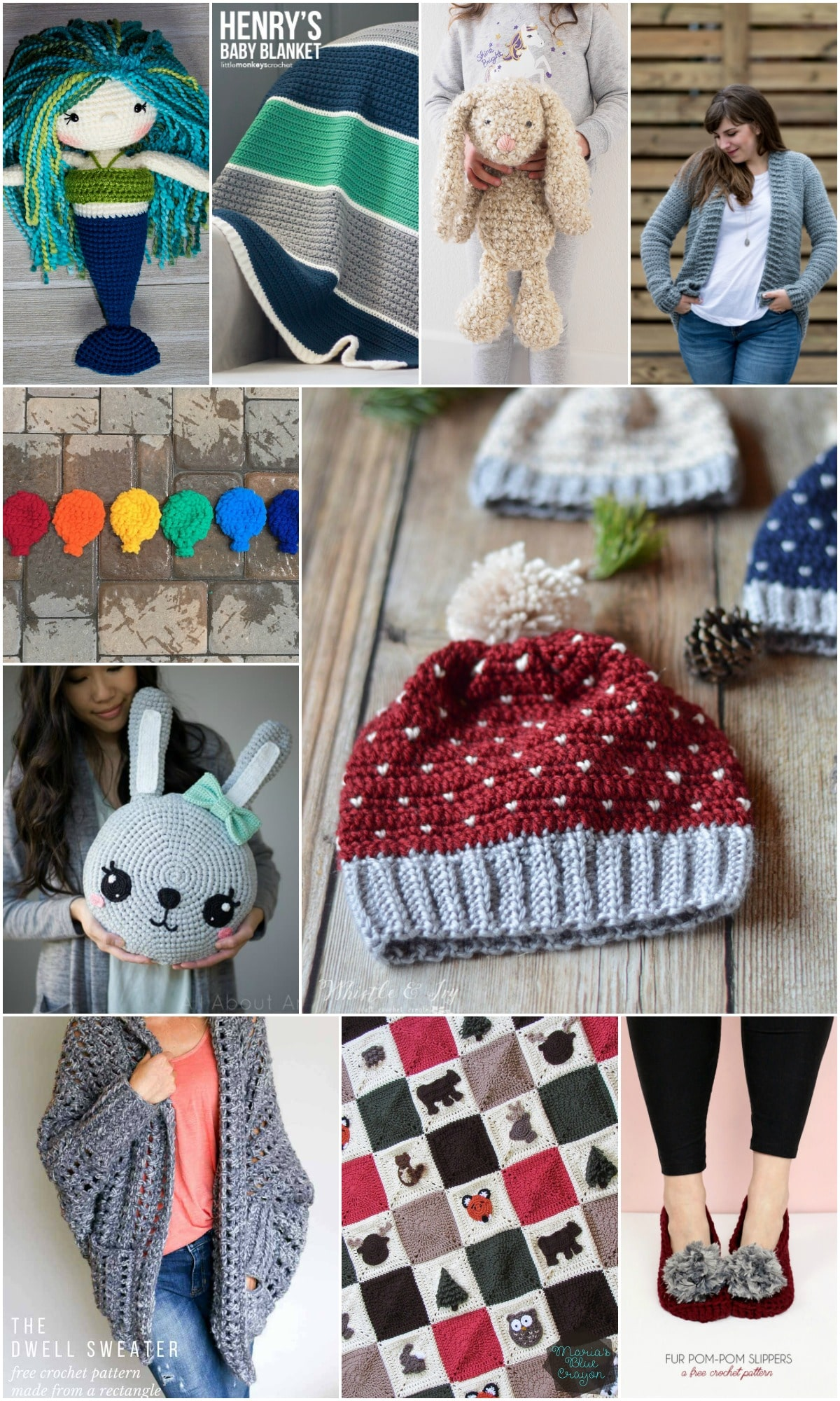 Top FREE Crochet Patterns of 2017 - Get the top 10 patterns from around the web in one place! These are the most popular patterns of the year!