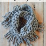 Chunky Fringe Scarf CAL – Part One