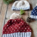 Crochet Snowfall Hat – Size Baby to Adult
