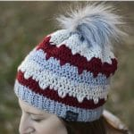 Winter Peaks Hat – Free Crochet Pattern