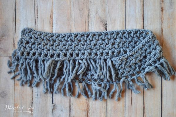 Chunky Fringe Scarf Cal Part Two Whistle And Ivy