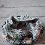 Crochet Granny Square Cowl Pattern