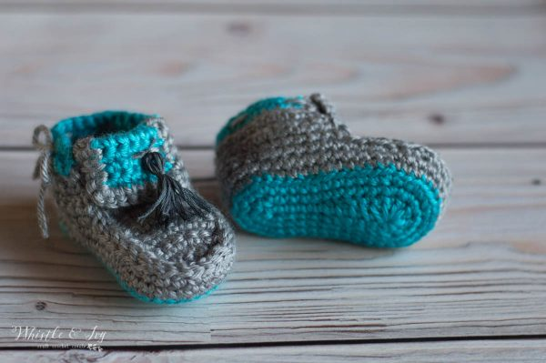 crochet baby shoes moccasins booties crochet pattern