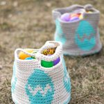 Crochet Easter Egg Basket – Free Crochet Pattern
