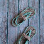 Women's Crochet Flip-Flops – Free Crochet  Pattern