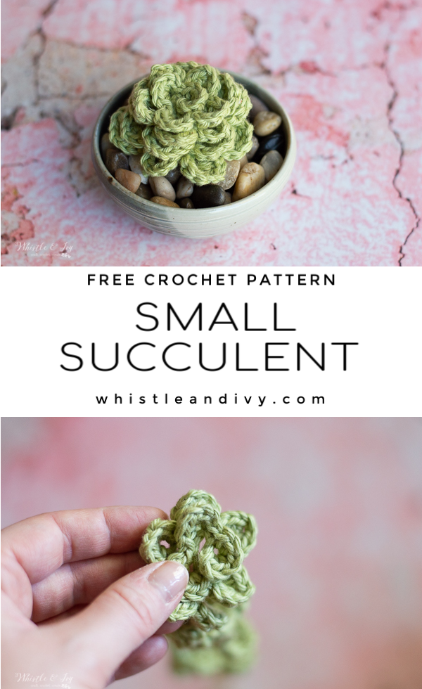 cute and easy crochet succulents free crochet pattern handmade