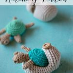 Crochet Hatching Turtles