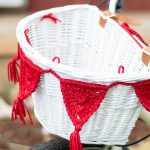 Crochet Bike Basket Bunting (with OUTDOOR Yarn!) – Free Crochet Pattern