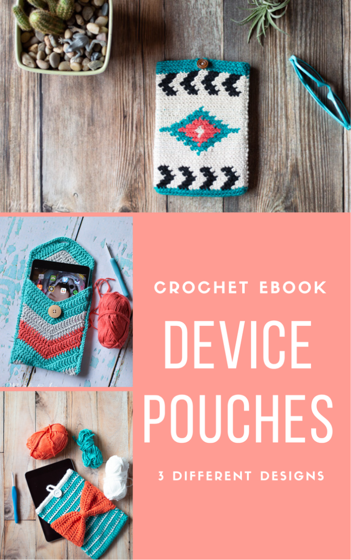 crochet device pouches crochet patterns