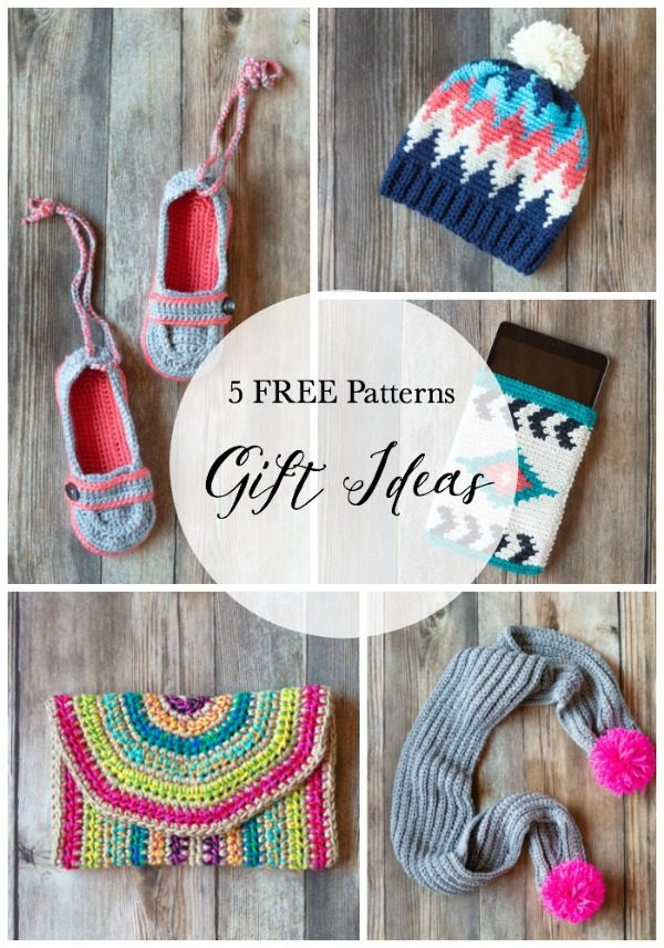 Crochet Christmas in July - 5 Pretty Gift Ideas - Whistle and Ivy