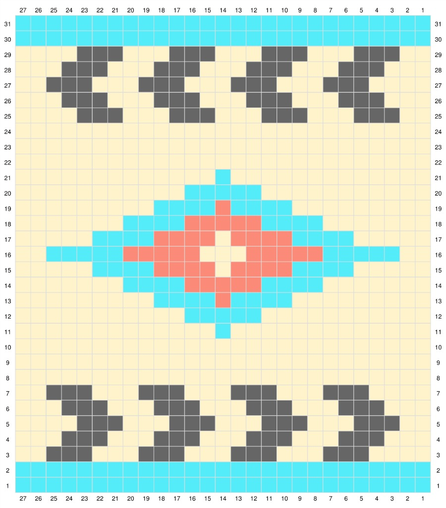 southwest crochet graph