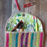 Rica Colorful Crochet Clutch  – Free Crochet Pattern