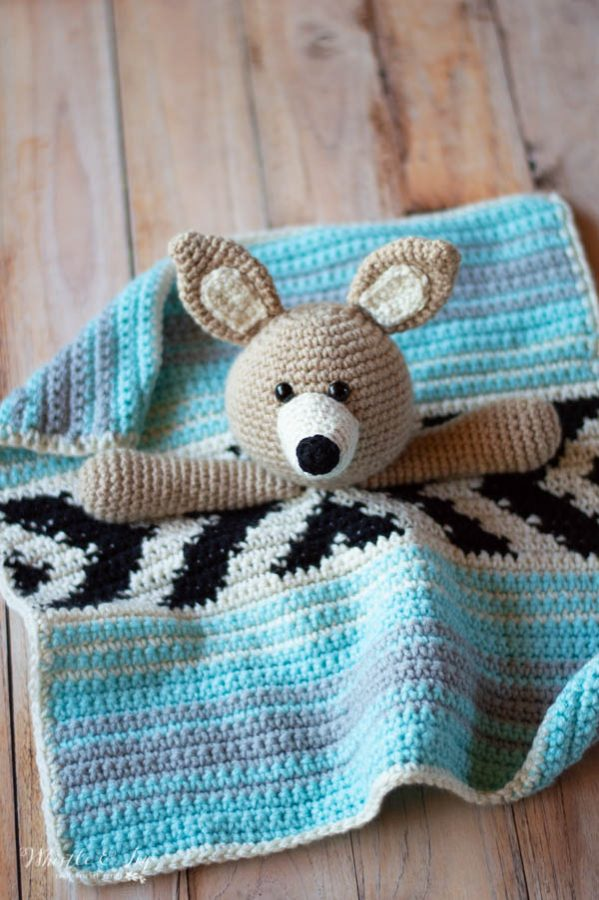 Poca the Bear - Cute Teddy Bear Crochet Pattern - Whistle