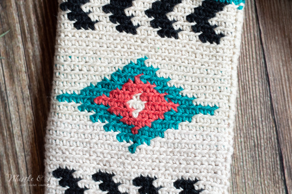 southwest style crochet design