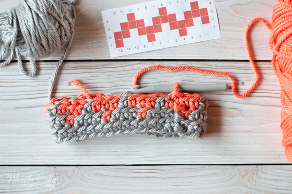 how to keep yarn from getting tangled with crocheting a graph
