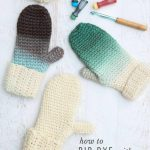 Crochet Tip: How to Dip Dye Crochet Projects
