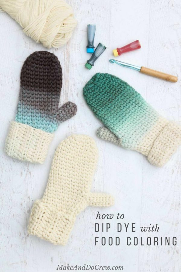 Crochet Tip How To Dip Dye Crochet Projects Whistle And Ivy