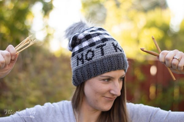 not knitting it's crochet free pattern for plaid hat