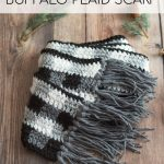 Crochet Buffalo Plaid Scarf – Free Crochet Pattern