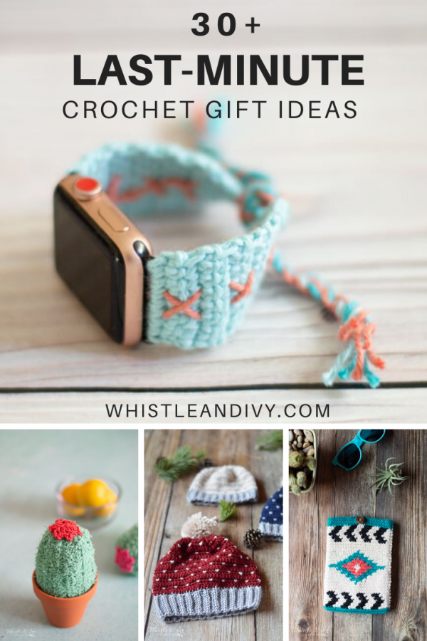 Patterns For Last Minute Crochet Gifts