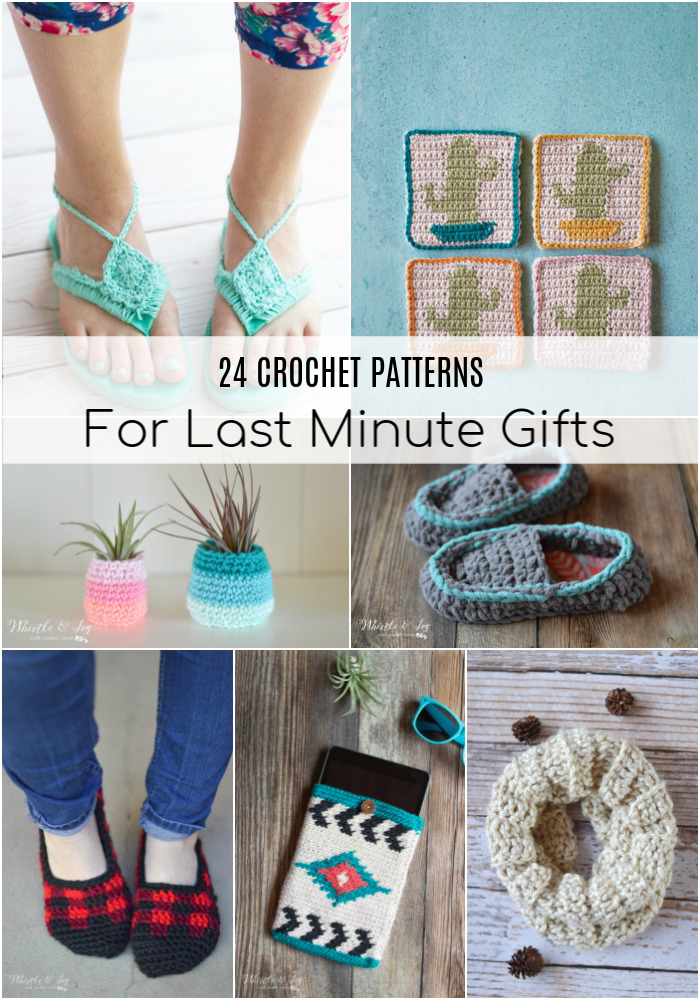 24 Patterns For Last Minute Crochet Gifts Whistle And Ivy